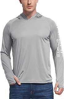 Men's UPF 50+ UV Sun Protection Outdoor Long Sleeve Performance T-Shirt