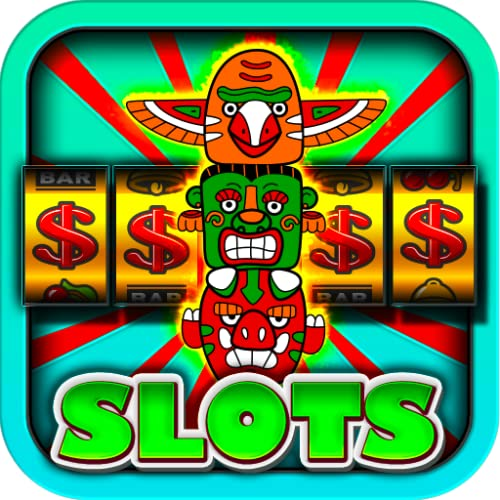 Lucky God Slots Free Totem Ottawa Mask Slot MAchine Free for Kindle Fire HD  Free Vegas Casino Jackpot Win Free Tablet Games Download for free this casino app to play offline without internet needed or wifi Best video slots game for new 2015