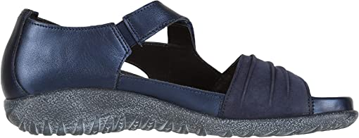 Polar Sea Leather/Navy Velvet Nubuck