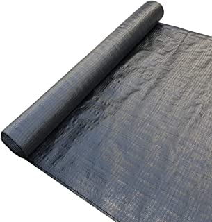Agfabric 6oz Landscape Double-Heated Woven Geotextile Fabric,Underlayment and Erosion Control,Garden Mat 13x65ft Black