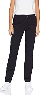 Women's Straight-Fit Stretch Twill Chino Pant