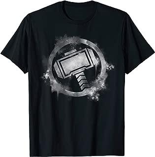 Marvel Avengers Endgame Thor Spray Paint Logo T-Shirt