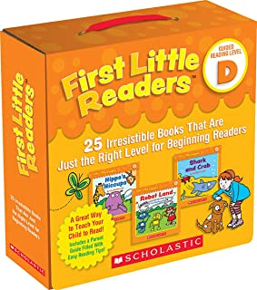 First Little Readers Parent Pack: Guided Reading Level D: 25 Irresistible Books That Are..