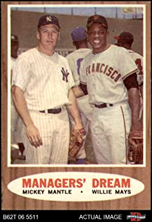 1962 topps managers dream
