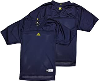 adidas Michigan Wolverines NCAA Big Boys Blank Replica Jersey - Navy Blue (XL (18/20))
