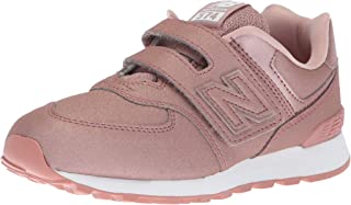New Balance Kids' Girl's 574v1 Hook and Loop Sneaker
