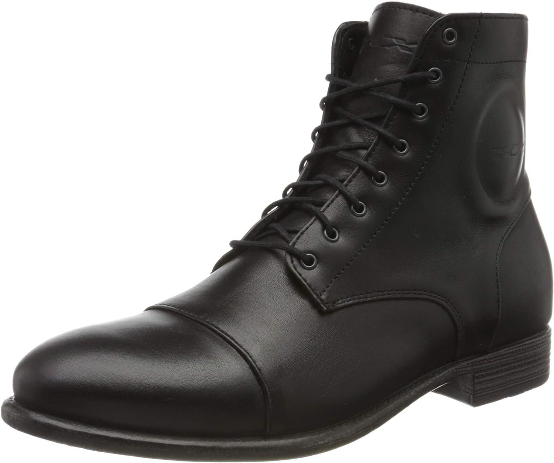 m Black, men10 d TCX Mens Motorcycle Boots us=44eu