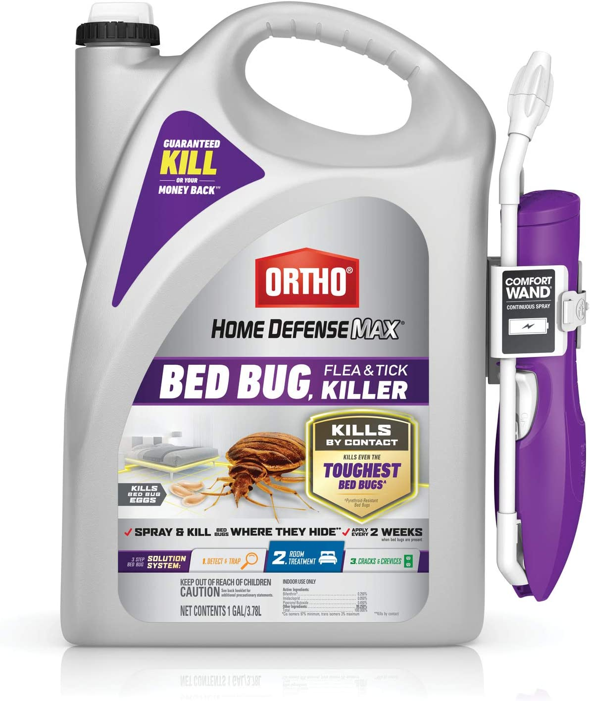 Ortho Home Defense Max Bed Bug Flea 専門店 Read ◆在庫限り◆ Tick Killer With - and