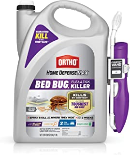 Ortho Home Defense Max Bed Bug, Flea and Tick Killer – With Ready-to-Use Comfort..