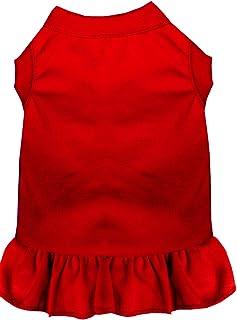 فستان 59-00 MDRD بدون زخرفة للحيوانات الأليفة من ميراج بت برودكتس، مقاس متوسط، أحمر