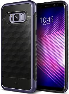 e8091f0a7e2 Caseology Funda Galaxy S8, [Serie Parallax] Protector Delgado de Doble  Capa. Proteccion