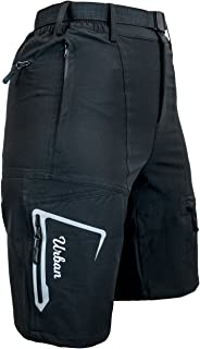 Urban Cycling Apparel The Grinder - Women's Mountain Bike MTB Shorts with Zip Pockets, Loose Fit, and Dry-Fast