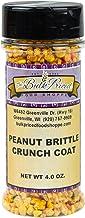 Peanut Brittle Crunch Coat Ice Cream Topping, Bulk Size (4 Ounce Shaker Bottle)
