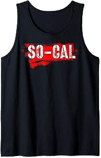 So-Cal California distressed native team Tank Top