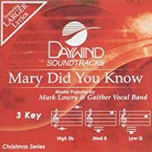 mary did you know accompaniment track