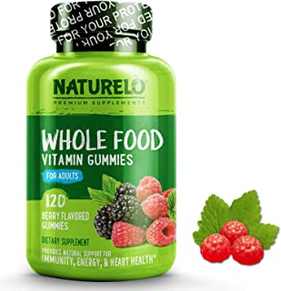 NATURELO Whole Food Vitamin Gummies for Adults - Chewable