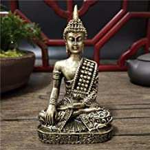 Statue Sculpture Buddha Figurines Ornaments Resin Feng Shui Buddha Sculpture Home Decoration