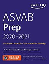 ASVAB Prep 2020-2021: 4 Practice Tests + Proven Strategies + Online (Kaplan Test Prep)