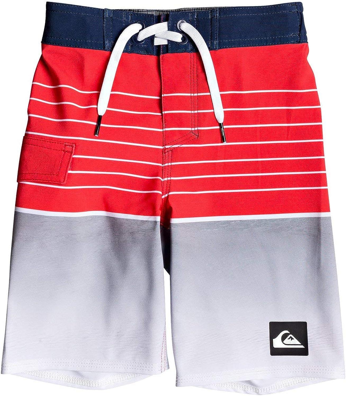 Quiksilver Boys EQKBS03200 Highline Slab Boy 14 Boardshort Swim Trunk Board Shorts