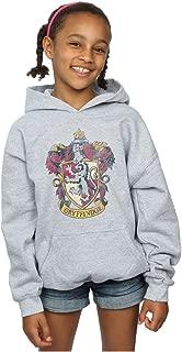 Girls Gryffindor Distressed Crest Hoodie