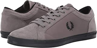 Fred Perry Men's Baseline Winterised Ripstop/Microfibre Falcon Grey 10 D UK