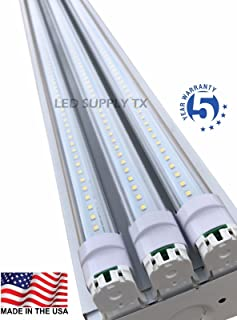 4 Foot 8550 Lumens 66 Watt LED Shoplight Room Work Garage Light Fixture New by PrimeLights