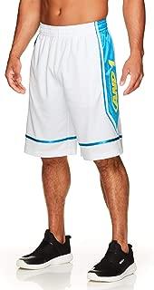 AND1 Men's Basketball Gym & Running Shorts w/Elastic Waistband & Pockets - 12 Inch Inseam