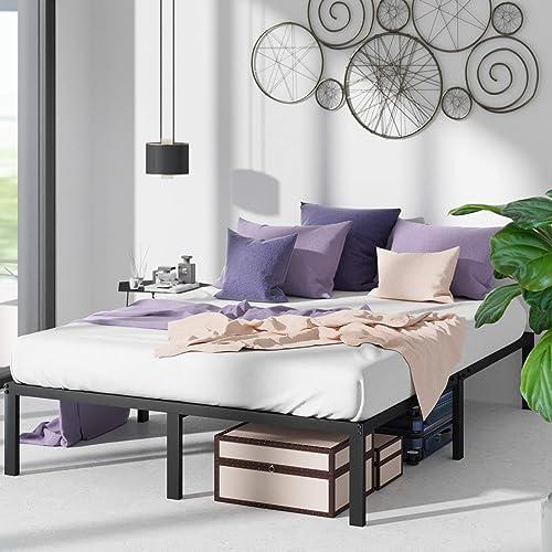 Zinus Yelena Classic Metal Platform Bed – 14 Inch