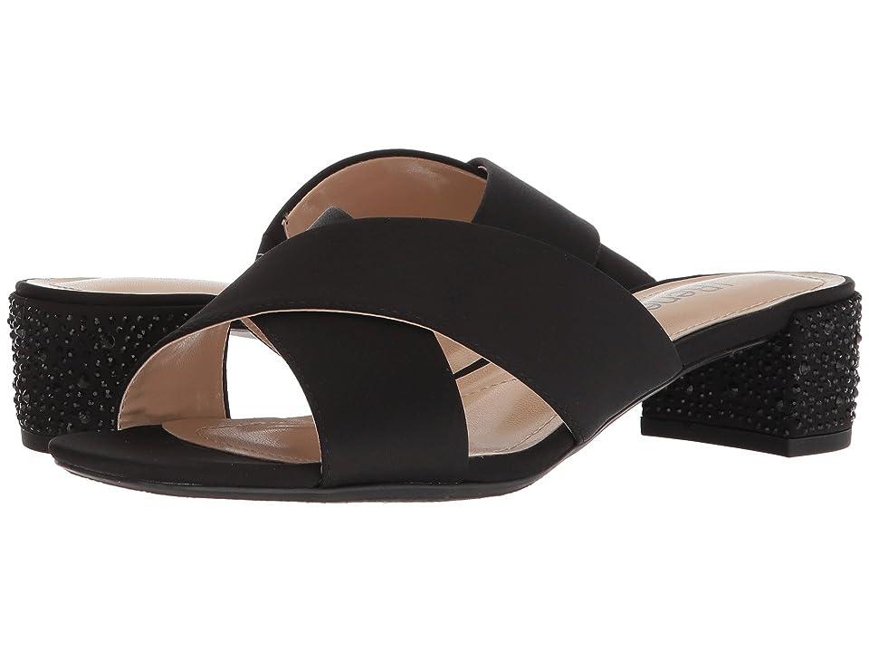 J. Renee Cindee (Black Satin) High Heels
