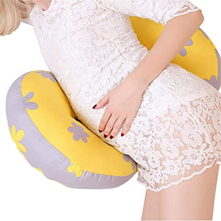 Knees Back WEILORI Pregnancy Pillow Wedge for Maternity ,Side Sleeper Pregnancy Pillow Support Body Belly