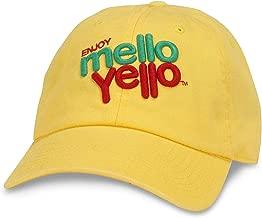 American Needle Mello Yello Ballpark Slouch Curved Brim Adjustable Hat Yellow