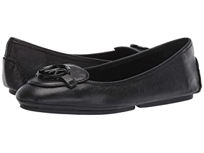 MICHAEL Michael Kors Lillie Moc (Black Madras 1) Women