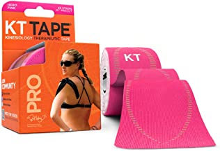 KT Tape KTTP-002332 Pro Pre Cut Synthetic 20 Strip, Jet