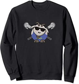 Funny Goat Lacrosse Sweatshirt