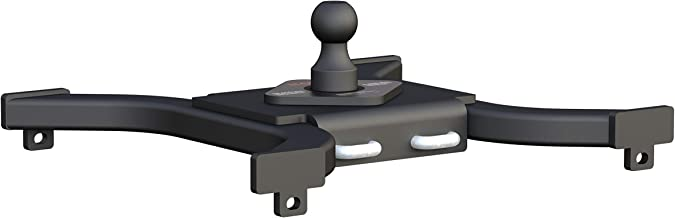 CURT 16085 Spyder 5th Wheel to Gooseneck Adapter Hitch, Fits Industry-Standard Rails, 25,000 lbs., 2-5/16-Inch Ball