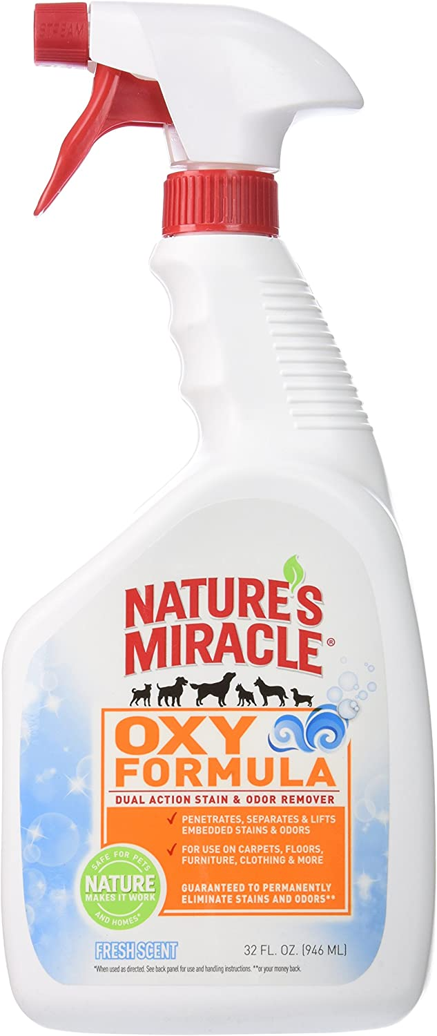 Nature's Miracle Oxy Forumula Satin & Odor Remover, 32 oz