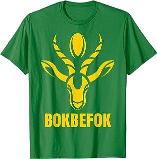 Bokbefok South Africa Rugby World Champion Springboks Gift T-Shirt