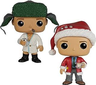 FunKo POP Movies: Christmas Vacation - Clark Toy, Cousin Eddie Figures Set of 2