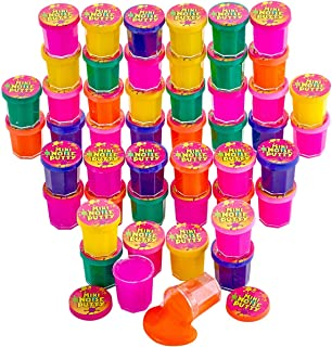 Kicko Mini Noise Putty Toys for Kids - Pack of 48 Farting Slimes - Ideal for Sensory and Tactile Stimulation, Event Prize,...