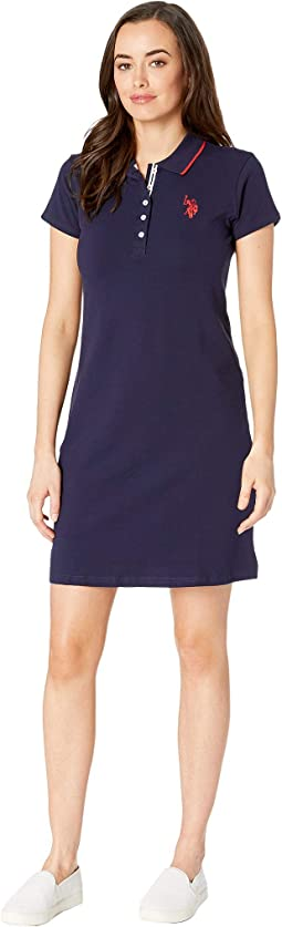 Plain Polo Dress