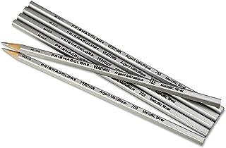 Prismacolor Verithin Colored Pencils, Metallic Silver, Dozen by Prismacolor