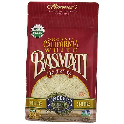 Lundberg Organic California White Basmati Rice, 32 Ounce (Pack of 1)