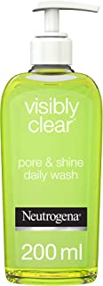 Neutrogena, Facial Wash, Visibly Clear, Pore & Shine, 200ml
