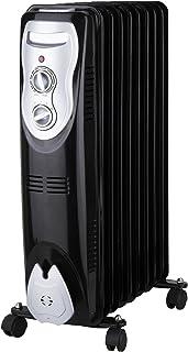 Zephir ZRA1519 Piso 2000W Negro, Color blanco Radiador - Calefactor (Radiador, Negro, Color blanco, Aceite, Giratorio, 220-240 V, 50-60 Hz)