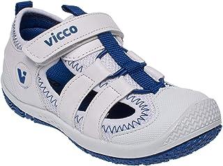 Vicco 333.Z.337 Beyaz Erkek Çocuk Günlük Ortopedik Sandalet Terlik
