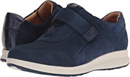 Navy Nubuck/Suede Combination