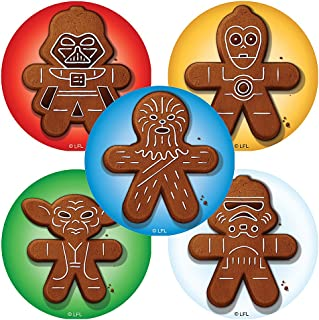 SmileMakers Star Wars: Gingerbread Stickers - Prizes 100 Per Pack