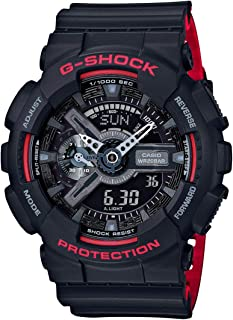 GSHOCK Men's Automatic Wrist Watch analog-digital Display and Resin Strap, GA110HR-1A