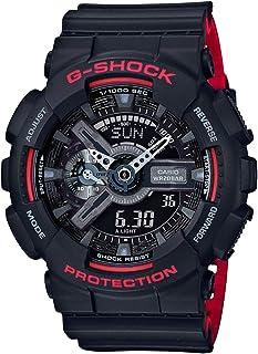 Casio Sport Analog-Digital Display Quartz Watch For Men Ga-110Hr-1Adr, Black Band