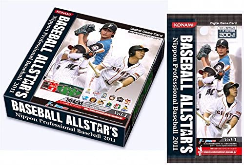 Digital Game Card BASEBALL ALLSTAR'S Nippon Professional Baseball 2011 Vol.1 BOX (japan import)